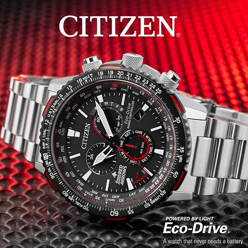 Citizen Watches Red Arrows