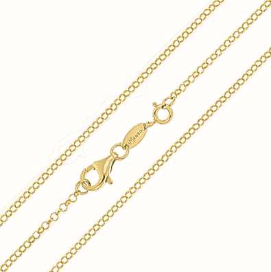 MY iMenso Jasseron 92cm Necklace (925/Gold-Plated) E-Coat 27-0038