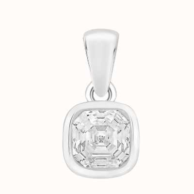 Perfection Crystals Single Stone Rubover Imperial Mosaic Pendant (1.00ct) P5677-SK