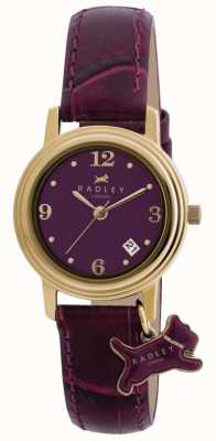 Radley Women's Darlington Purple Leather Strap Purple Dial RY2008S