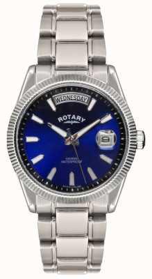 Rotary Gent's  Stainless Steel Bracelet  Havana Watch GB02660/05