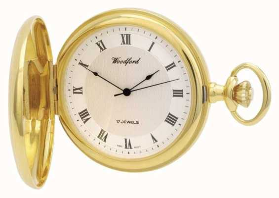 Woodford | Full Hunter | Gold Plated | Pocket Watch | 1028