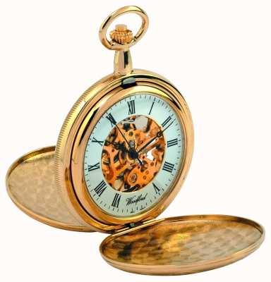 Woodford Full Hunter Pocket Watch 1038