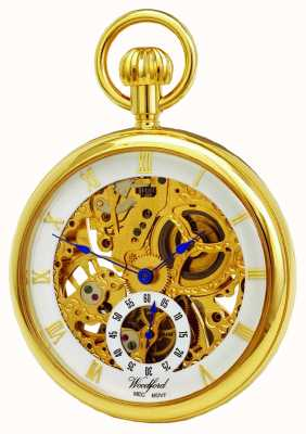 Woodford Open Face Pocket Watch 1044