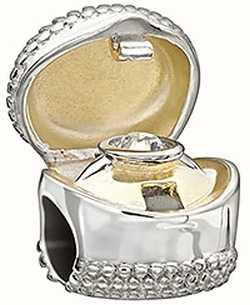Chamilia 'I Do' Ring Box Charm 2025-1102