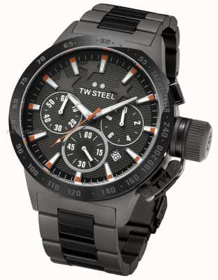 TW Steel Michel Canteen Mens Black Chronograph TW0313