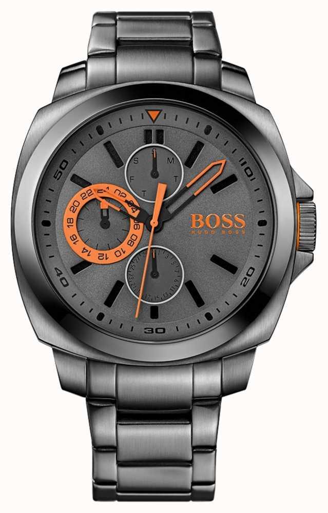 596e531c522 Hugo Boss Orange Brisbane Mens Multifunction Watch 1513103 - First ...