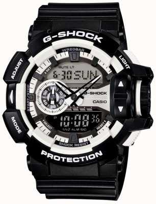 Casio Mens G-Shock Black Watch Bluetooth GA-400-1AER