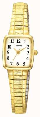 Lorus Ladies' Classic Gold Plated Watch RPH56AX9