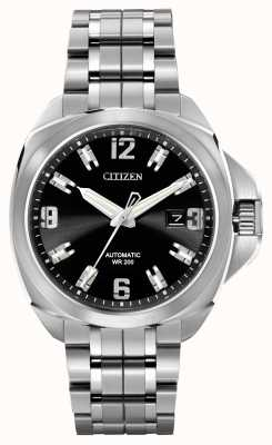Citizen Automatic Grand Touring Signature Stainless Steel NB0070-57E