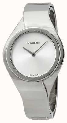 Calvin Klein Womens Senses, Stainless Steel Watch K5N2M126