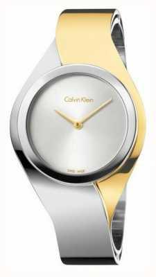 Calvin Klein Womens Senses | Stainless Steel Bracelet | Gold/Silver | K5N2S1Y6