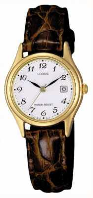 Lorus Brown Leather Strap RXT94AX9