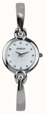Michel Herbelin Womens Stainless Steel Case, Mother Of Pearl 17001/B59