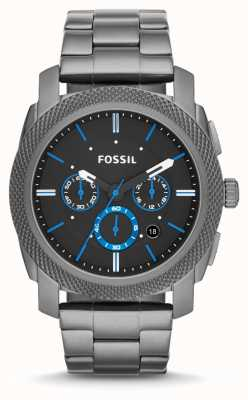 Fossil Mens Machine Gun Metal Grey FS4931