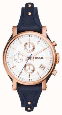 Fossil Womens Original Boyfriend Rose Gold PVD ES3838