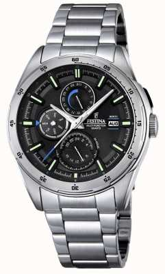 Festina Mens Stainless Steel Multifunction Dial F16876/4