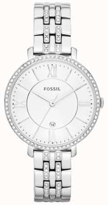 Fossil Womens Jacqueline Stainless Steel Stone Set ES3545