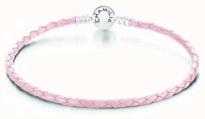 Chamilia Blush Leather Medium Bracelet 1030-0164