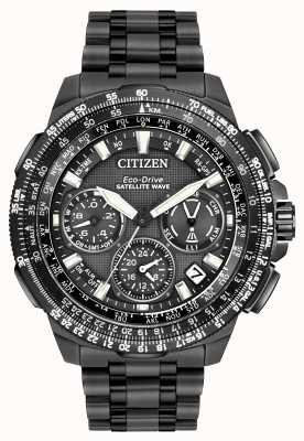 Citizen Promaster Navihawk GPS Black Super Titanium CC9025-85E