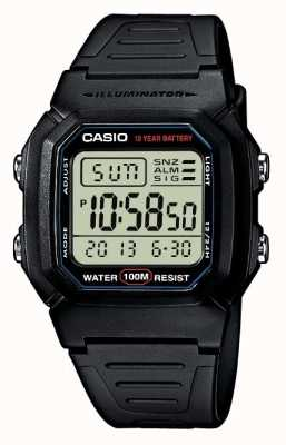 Casio Sports Gear Alarm Chronograph Digital W-800H-1AVES