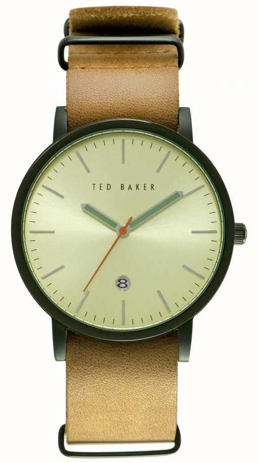 0922dc072119ae Ted Baker Mens 40mm Black Ion-plated Case TE10026443 - First Class ...