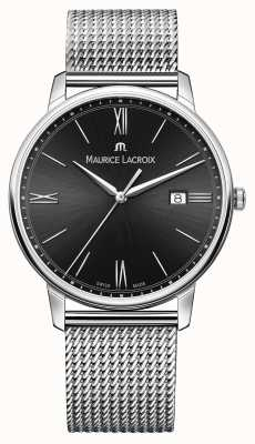 Maurice Lacroix Stainless Steel Milanais Saphire Crystal EL1118-SS002-310-1
