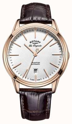 Rotary Mens Les Originales Tradition Brown Leather GS90164/02