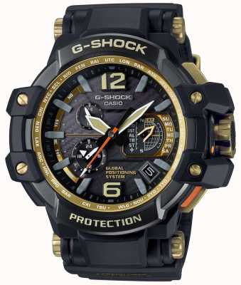 Casio Hybrid GPS Premium Gravitymaster Black And Gold GPW-1000GB-1AER