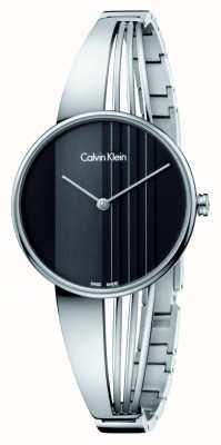 Calvin Klein Drift Watch with Black Dial K6S2N111