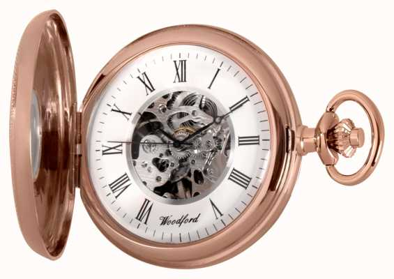 Woodford | Half Hunter | Rose Gold | Pocket Watch | 1092