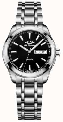 Rotary Mens Les Originales Legacy Stainless Steel GB90173/04