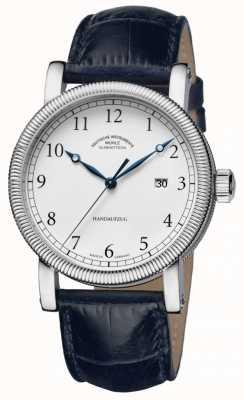 Muhle Glashutte Teutonia III Handaufzug Leather Band White Dial M1-08-01-LB