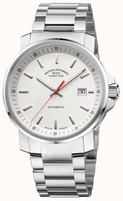 Muhle Glashutte 29er Big Stainless Steel Band White Dial M1-25-31-MB