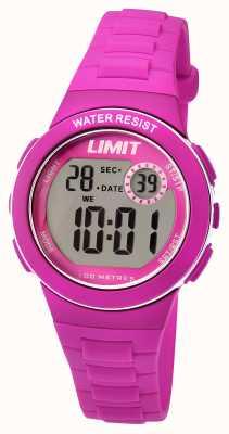 Limit Childrens Digital Pink Resin Strap 5584.24
