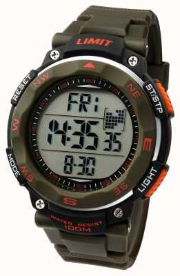 Limit Mens Sport Watch Khaki Strap 5488.01