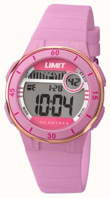 Limit Womans Pink Strap Digital Dial 5557.24
