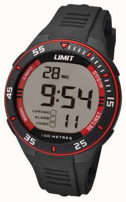 Limit Mens Black Strap Digital Dial 5572.24