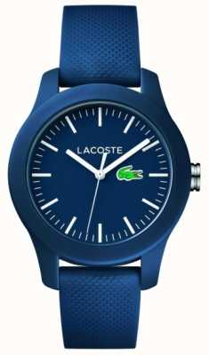 Lacoste Unisex Navy Rubber Strap Navy Dial 2000955