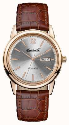 Ingersoll Mens 1892 The New Haven Brown Leather Strap I00503