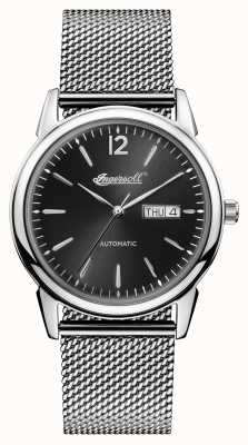 Ingersoll Mens 1892 The New Haven Stainless Steel Black Dial I00505