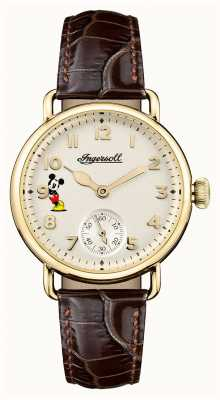 Disney By Ingersoll Womens Union The Trenton Disney Limited Edition Brown ID00102