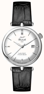J&T Windmills Mens Threadneedle Mecahnical Sterling Silver Watch WGS10003/06