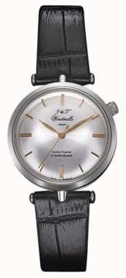 J&T Windmills Womans Threadneedle Mechanical Watch Silver Rose Gold WLS10001/06