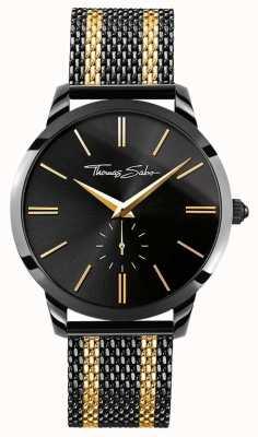 Thomas Sabo Mens Rebel Spirit Iron Plated Stainless Steel Gold WA0281-284-203-42