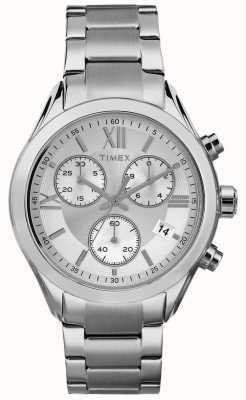 Timex Womans Miami Chronograph Silver Tone TW2P93600