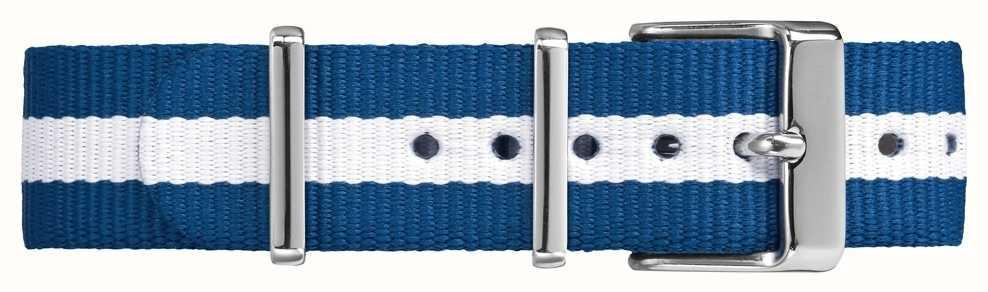 Timex Weekender Fairfield 18mm Blue White Strap TW7C07300