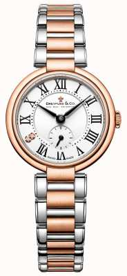 Dreyfuss Dreyfuss Ladies Two Tone Rose Gold 1974 Watch DLB00159/01/L