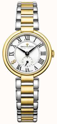 Dreyfuss Dreyfuss Ladies 1974 Two Tone Gold Plated Watch DLB00158/01