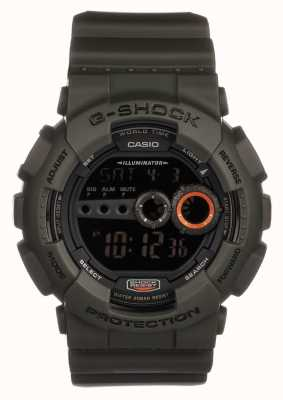 Casio Mens Limited Edition G-shock Green GD-100MS-3ER